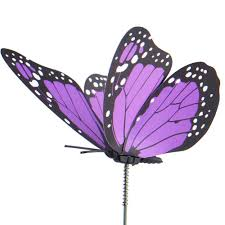 austor 26 pcs dragonfly butterfly stakes garden