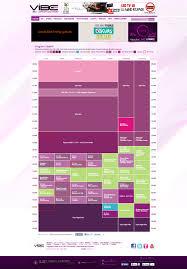 vibe fm website layout design