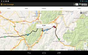 Tour De France Route Map by
