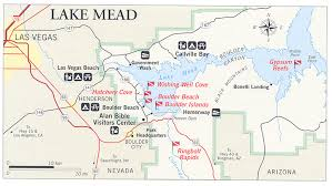lake mead map nps gov submerged submerged resources center national park