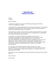 cover letter marketing coordinator cover letter marketing