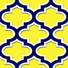 quatrefoil wrapping paper blue trellis wrapping paper zazzle