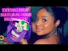 trying new products on my natural hair l 2 new andalou naturals