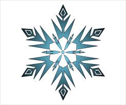 17 snowflake templates free psd vector eps pdf format