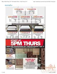 macy s black friday ad hours deals living rich with coupons