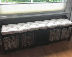 custom made tufted bench cushion house bench seat
