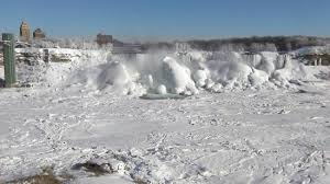 frozen american falls picture niagara falls niagara falls