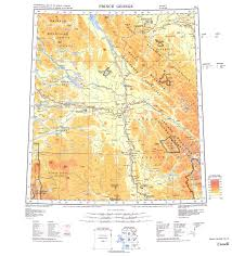 Map Of British Columbia Canada by British Columbia Maps Buy Online
