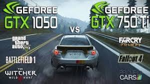 pubg 750 ti gtx 1050 vs gtx 750 ti test in 6 games i3 7100 download