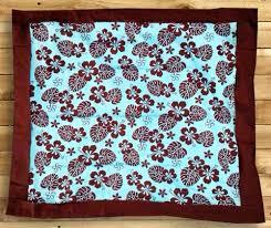 Hibiscus Crib Bedding Hawaiian Hibiscus Baby Blanket By Dean Miller