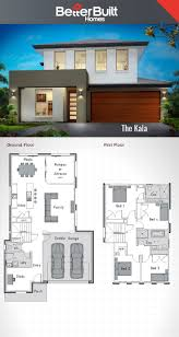 villa plan modern houses house double story stupendous best storey