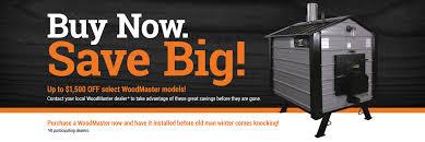 woodmaster outdoor furnaces and heatlink