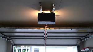 installation of garage door sears bad garage door opener installation youtube