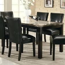 Faux Marble Top Dining Table Black Faux Marble Top Dining Table Set Reviews Hillsdale Monaco