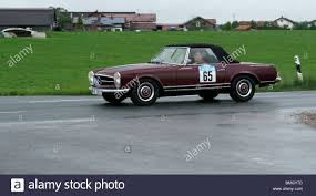 mercedes benz classic old convertible old mercedes benz classic sports car stock photo