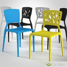 3d viento chair by bonaldo cgtrader