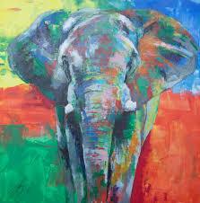 saatchi art artist tomoya n painting elephant art