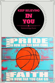 84 best handmade basketball decor images on pinterest basketball this handmade brilliant blue and pink inspirig wall decor has the perfect basketball quote this basketball wall art can give her the daily motivation she