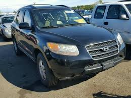 hyundai santa fe 2007 black km8sg73d87u126293 2007 black hyundai santa fe on sale in ct