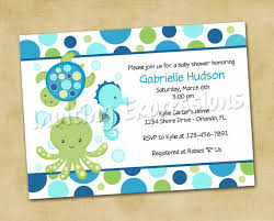 the sea baby shower invitations the sea themed baby shower invites file name il 570xn