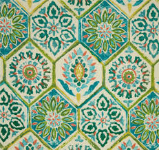 Outdoor Fabric Outdoor Fabric By The Yard Turquoise Fabric Teal Fabric P Kaufmann