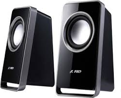 f d home theater system f u0026d speakers set of two