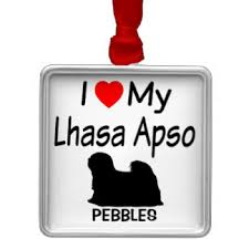lhasa apsos ornaments keepsake ornaments zazzle