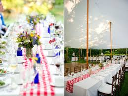 a patriotic cape cod backyard wedding southern new england weddings