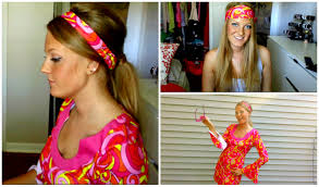 70s felicity shagwell inspired costume tutorial halloween