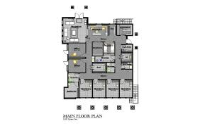 small business floor plans storey commercial building floor plan dwg small mixed use design