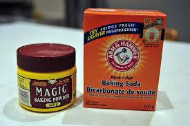 馗rire une recette de cuisine 烘培蘇打與泡打粉的作用差異 baking soda and baking powder