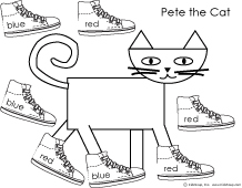 pete the cat template 2018 funny cats