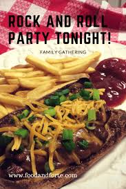 rock and roll tonight family gathering food and forte