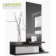 arredo ingresso design mobile ingresso sospeso con cassetto specchio arredo moderno