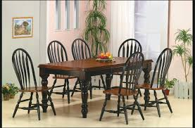 black and wood dining table black wood dining table and chairs beauteous decor lovely room
