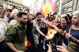 spain warns catalonia over independence bid usa politics news