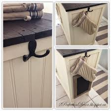 2perfection decor adding a hook to our kitchen island