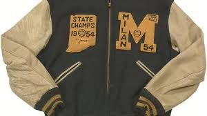 historic milan state championship jacket up for auction wkrc