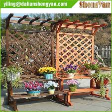 outdoor trellis potting bench buy potting bench trellis potting