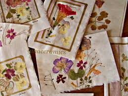 Drying Flowers In Books - art and alfalfa make the season last a little longer
