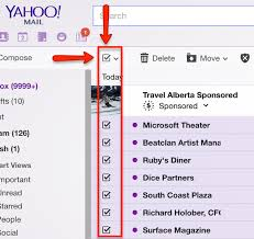Yahoo Mail How To Delete All The Inbox Yahoo Mail Messages Without Clicking