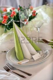 Table Setting Cards - festive table setting for wedding valentine or other event