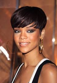 short hairstyles with curly bangs for african women women medium