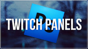 photoshop twitch panel tutorial youtube