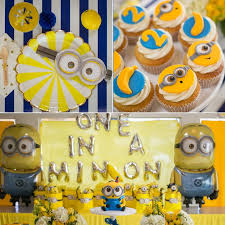 despicable minion birthday party popsugar moms