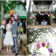 online shop 5pcs set 15cm height decorative flowers balls paper