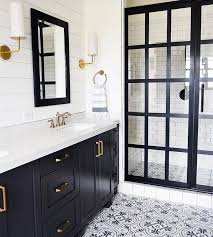 Master Bathroom Tile Designs Best 25 Black And White Master Bathroom Ideas On Pinterest