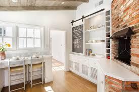 Sliding Door Kitchen Cabinets Barn Sliding Doors Kitchen Traditional With Barn Door Black