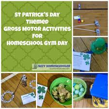 st patrick u0027s day gross motor activities for homeschool gym day
