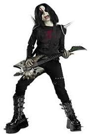 metal mayhem zombie rock star marilyn manson dress up halloween